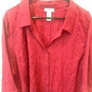 Ladies red shirt